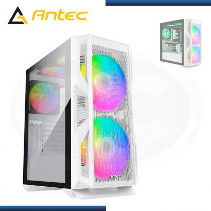 CASE ANTEC NX800 WHITE ARGB SIN FUENTE VIDRIO TEMPLADO USB 3.0/USB 2.0 (PN:0-761345-81082-1)