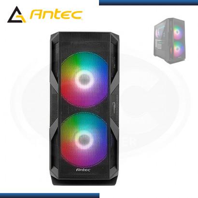CASE ANTEC NX800 BLACK  ARGB SIN FUENTE VIDRIO TEMPLADO USB 3.0/USB 2.0 (PN:0-761345-81080-7)