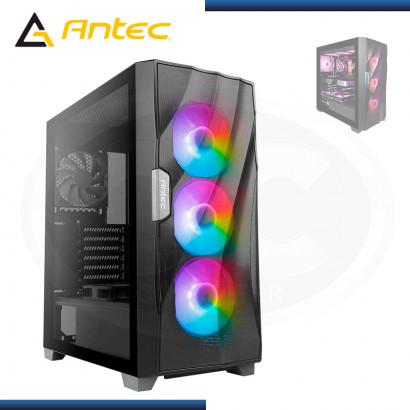 CASE ANTEC DF700 FLUX BLACK ARGB SIN FUENTE VIDRIO TEMPLADO USB 3.0 (PN:0-761345-80070-9)