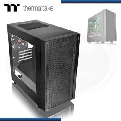 CASE THERMALTAKE VERSA H18 SIN FUENTE VENTANA ACRILICA USB 3.0/USB 2.0 (PN:CA-1J4-00S1WN-01)