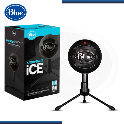 MICROFONO BLUE SNOWBALL ICE BLACK USB (PN:988-000067)