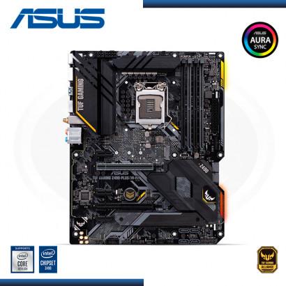 MB ASUS TUF GAMING Z490 PLUS WIFI DDR4 LGA 1200 AURA SYNC RGB (PN:90MB1330-M0AAY0)