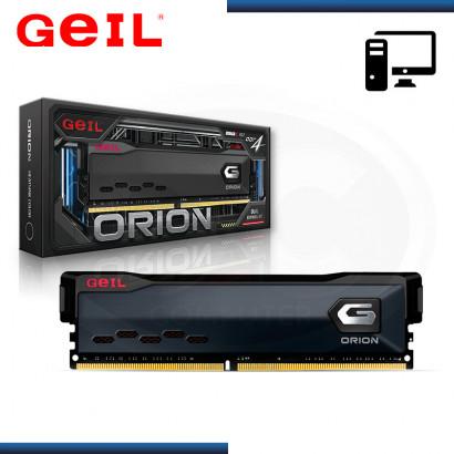 MEMORIA 8GB DDR4 GEIL ORION BUS 3000MHZ BLACK (PN:GAOG48GB3000C16ASC)
