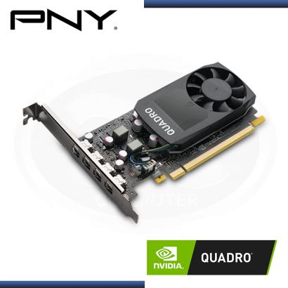 PNY NVIDIA QUADRO P1000 V2 4GB GDDR5 128BITS (PN:VCQP1000V2-PB)