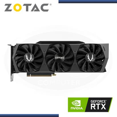 ZOTAC GEFORCE RTX 3080 10GB GDDR6X 320 BITS TRINITY OC (PN:9288-1N612-420Z8)