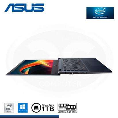 """LAPTOP ASUS EXPERTBOOK P2451FA-EK1442R CI7-10510U 14""""/ 8GB/1TB/WIN 10 PRO STAR BLACK (PN:90NX02N1-M26100)"""