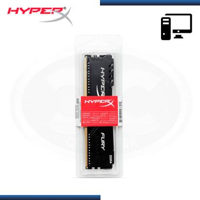 MEMORIA 8GB DDR4 HYPERX FURY BLACK BUS 3600MHZ (PN:HX436C17FB3/8)
