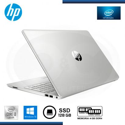 """LAPTOP HP 15-DW1024WM CI3-10110U 15.6""""/4GB/SSD 128GB/ WIN 10H PLATINUM"""