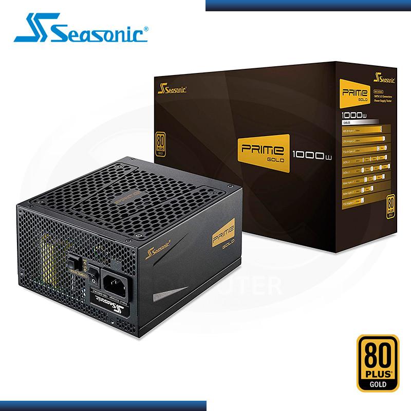 FUENTE SEASONIC PRIME 1000W 80 PLUS GOLD MODULAR (PN: SSR-1000GD )