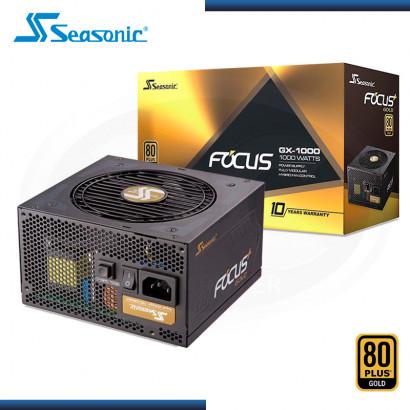 FUENTE SEASONIC FOCUS GX 1000W 80 PLUS GOLD MODULAR (PN:SSR-1000FX)