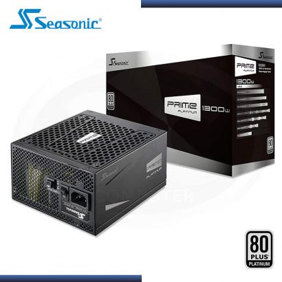 FUENTE SEASONIC PRIME PX 1300W 80 PLUS PLATINUM MODULAR (PN:SSR-1300PD)