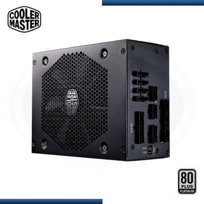 FUENTE COOLER MASTER V850 850W 80 PLUS PLATINUM MODULAR BLACK (PN:MPZ-8501-AFBAPV-US)