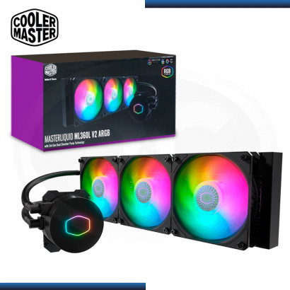 COOLER MASTER MASTERLIQUID ML360L V2 ARGB SISTEMA REFRIGERACION LIQUIDO INTEL/AMD (PN:MLW-D36M-A18PA-R2)