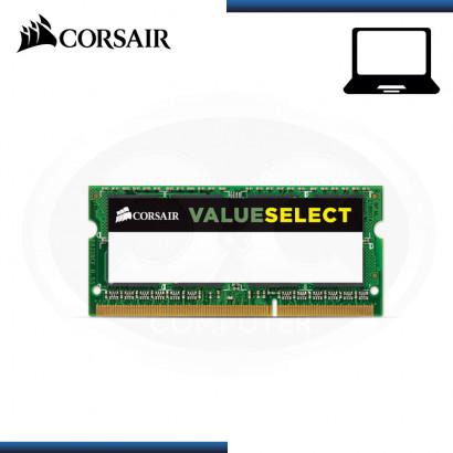 MEMORIA 8GB DDR3L CORSAIR SODIMM BUS 1600MHZ (PN:CMSO8GX3M1C1600C11)