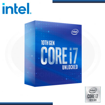 PROCESADOR INTEL CORE I7-10700K 3.80 GHZ/16MB LGA1200