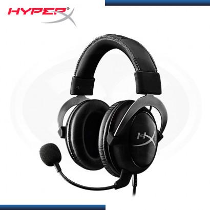 AUDIFONO HYPERX CLOUD II BLACK CON MICROFONO (PN:KHX-HSCP-GM)