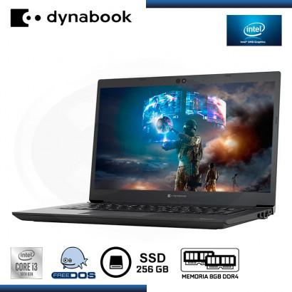 "LAPTOP DYNABOOK TECRA A40-G CI3-10110U 14""/8GB/SSD 256GB/FREEDOS ESPAÑOL (PN:PMZ21U-00P009)"