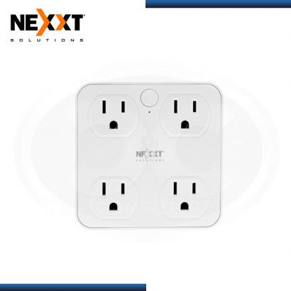 ENCHUFE NEXXT HOME INTELIGENTE NHP-T610 WI-FI 4 TOMAS + 2 PUERTOS USB