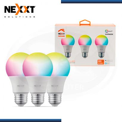 FOCO LED INTELIGENTE NEXTT HOME NHB-C120 3PK PACKx3 WI-FI RGB