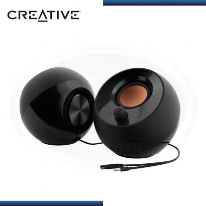 PARLANTES CREATIVE PEBBLE BLACK USB 2.0 (PN:51MF1680AA000)
