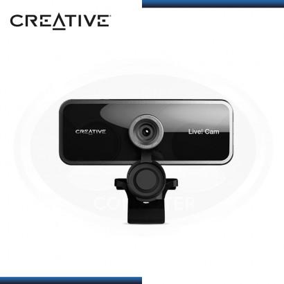 WEBCAM CREATIVE LIVE FHD 1080P BLACK USB (PN:73VF086000000)