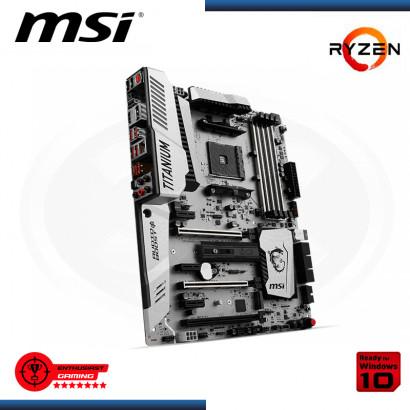 MB MSI X370 XPOWER GAMING TITANIUM WHITE LED DDR4 AM4
