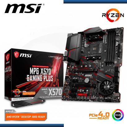 MB MSI MPG X570 GAMING PLUS AMD RYZEN DDR4 AM4 PCIe 4.0 (PN:911-7C37-017)