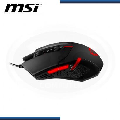 MOUSE MSI INTERCEPTOR DS B1 GAMING OPTICO 1600 DPI USB