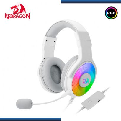 AUDIFONO REDRAGON PANDORA WHITE CON MICROFONO USB (PN:H350W-RGB)