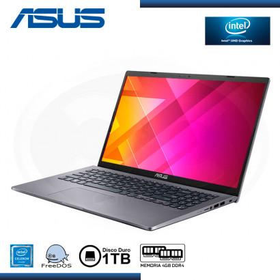 "LAPTOP ASUS VIVOBOOK X509MA-EJ273 INTEL CELERON N4020 15.6""/4GB/HDD 1TB/ FREEDOS SLATE GREY (PN:90NB0Q32-M10830)"