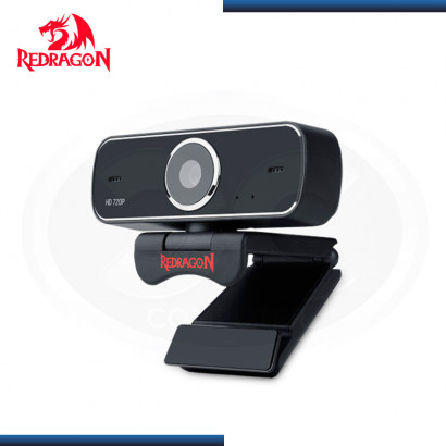 WEBCAM REDRAGON FOBOS STREAMING HD BLACK (PN:GW600)