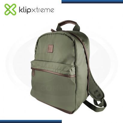 """MOCHILA KLIP XTREME BERNA GREEN PARA LAPTOP 15.6"""" (PN:KNB-406GN)"""