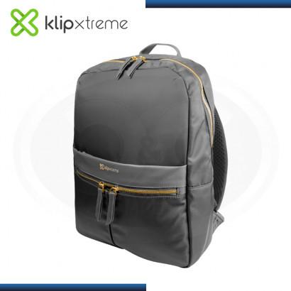 """MOCHILA KLIP XTREME BARI GRAY PARA LAPTOP 15.6"""" (PN:KNB-467GR)"""