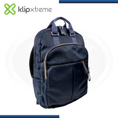 "MOCHILA KLIP XTREME TOSCANA BLUE PARA LAPTOP 15.6"" (PN:KNB-468BL)"