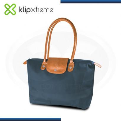 """BOLSO KLIP XTREME RIVIERA BLUE CARAMELO PARA LAPTOP 14.1"""" (PN:KNB-465BL)"""