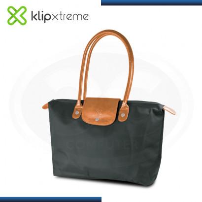 """BOLSO KLIP XTREME RIVIERA BLACK CARAMELO PARA LAPTOP 14.1"""" (PN:KNB-465BK)"""