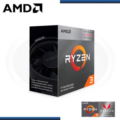 PROCESADOR AMD RYZEN 3 3200G 3.6GHZ 6MB 4CORE AM4 (PN:YD3200C5FHBOX)