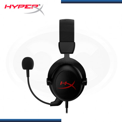 AUDIFONO HYPERX CLOUD CORE BLACK SURROUND 7.1 CON MICROFONO (PN:HX-HSCC-2-BK/WW)
