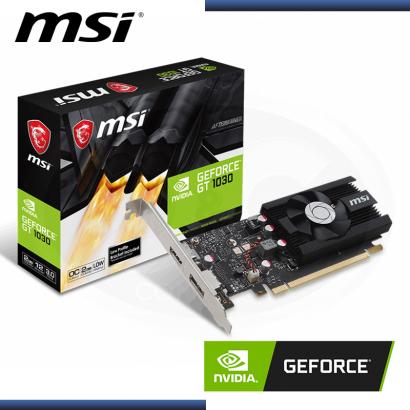 MSI GEFORCE GT 1030 2GB GDDR5 64BITS OC (PN:912-V809-2826)