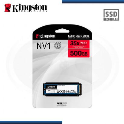 SSD 500GB KINGSTON NV1 M.2 2280 NVMe PCIe (PN:SNVS/500G)