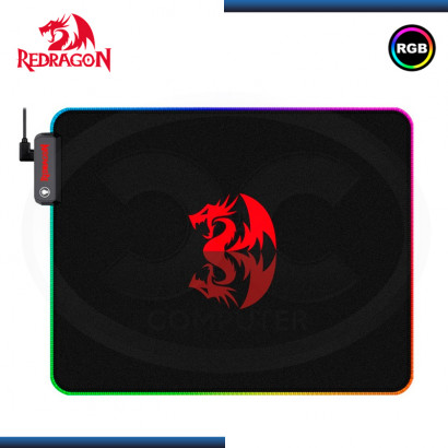 PAD MOUSE REDRAGON PLUTO RGB GAMING 330x260x3mm(PN:P026)
