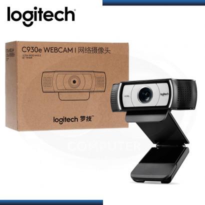 WEB CAM LOGITECH C930E HD 1080P ZOOM DIGITAL 4X (PN:960-000971)