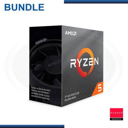 C&C COMBO : ASROCK RADEON RX 5600 XT + MB ASUS TUF GAMING B450-PLUS II + AMD RYZEN 5 3600 (REF:20-328)