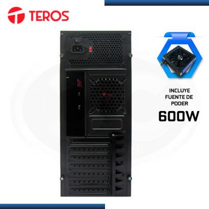 CASE TEROS TE-1070N CON FUENTE 600W USB 3.0/USB 2.0