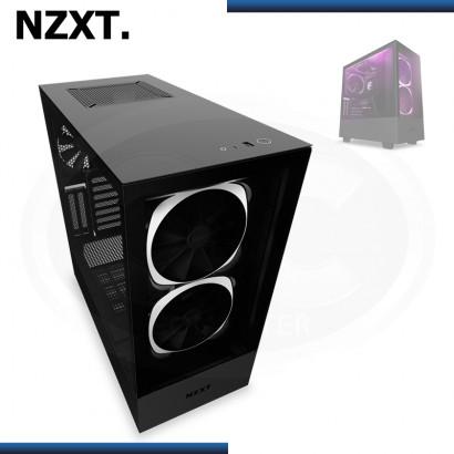 CASE NZXT H510 ELITE BLACK MATTE SIN FUENTE VIDRIO TEMPLADO USB 3.1 (PN:CA-H510E-B1)