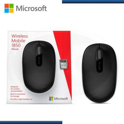 MOUSE MOBILE 1850 BLACK MICROSOFT WIRELESS USB (PN:U7Z-00001)