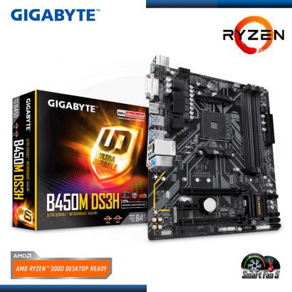 MB GIGABYTE B450M-DS3H AMD RYZEN DDR4 AM4