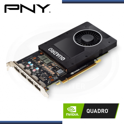 PNY NVIDIA QUADRO P2200 5GB GDDR5X 160BITS (PN:VCQP2200-SB)
