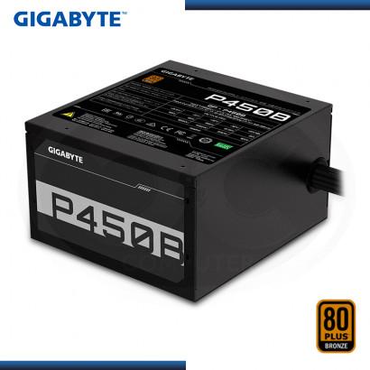 FUENTE GIGABYTE P450B 450W 80 PLUS BRONZE (PN:GP-P450B)