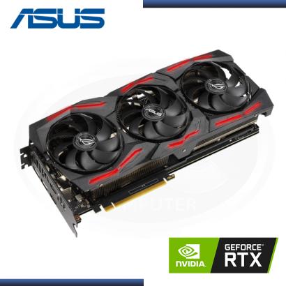 ASUS GEFORCE RTX 2060 6GB GDDR6 192BITS ROG STRIX EVO V2 GAMING (PN:90YV0GS1-M0AA00)